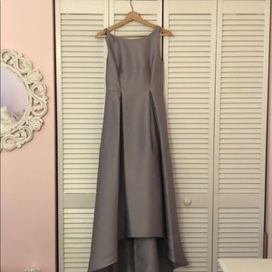 Grey/Silver Up Down Formal Dress